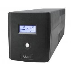 UPS Quer model Microsine 1000 ( czysta sinusoida , offline, 1000VA / 600W , 230 V , 50Hz )