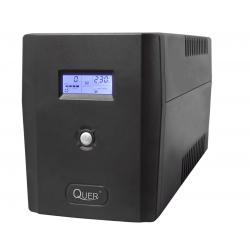 UPS Quer model Microsine 1500 ( czysta sinusoida , offline, 1500VA / 900W , 230 V , 50Hz )