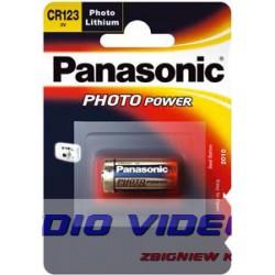 .Bateria CR123A Panasonic B1