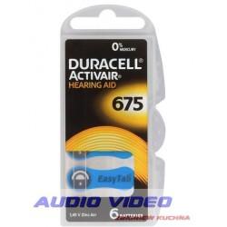 .Bateria słuch. DURACELL DA675