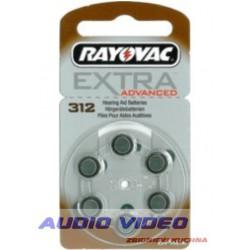 .Bateria słuchowa V312 Rayovac