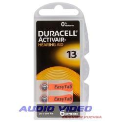 .Bateria słuchowa DURACELL DA13