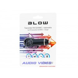 .Transmiter FM Blow USB+ładowarka 1A