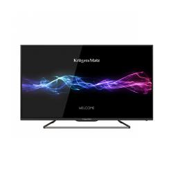 "Telewizor Kruger&Matz 32"" seria F, FHD z tunerem DVB-T2 H.265 HEVC"