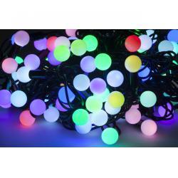 Lamki choinkowe LED RGB - 10m ( płynna zmiana kolorów)- 10m