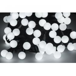 Lampki choinkowe LED z wyborem trybu świecenia- zimne białe- 10m