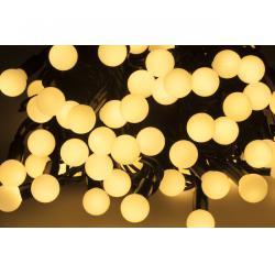 Lampki choinkowe LED z wyborem trybu świecenia- ciepłe białe - 10 m