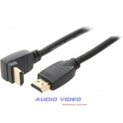 Przył.HDMI-HDMI CLASSIC kątowe 5m