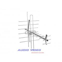 Ant.DVB-T TURBO TV-MUX8 COMBO VHF/UHF POLARYZACJA PIONOWA + ZASILACZ + WZMACNIACZ SWA-955.