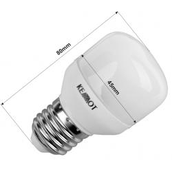 Kompaktowa lampa fluorescencyjna E27 7W, 2700K