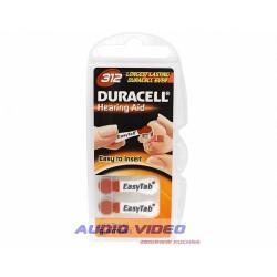 .Bateria słuchowa DA312 Duracell 0%Hg