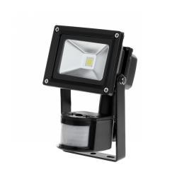 Reflektor LED 10 W z sensorem ruchu i zmierzchu 6400K
