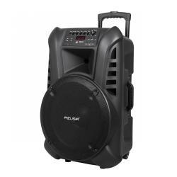 Kolumna aktywna (z 2 mikrofonami bezprzewodowymi UHF, SD, Bluetooth, FM, USB) 60Watt