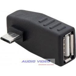 .Adapter USB gniazdo USB-wtyk micro USB