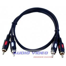 .Kabel 2RCA/2RCA 0.6m AV