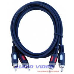 .Kabel 2RCA/2RCA 3m HQ