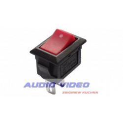 .Przełącznik klawiszowy mini RED