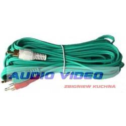 .Kabel Jack 3.5 2xRCA 7.5M