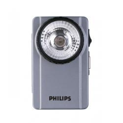 Latarka Philips POCKET LIGHT, krypton, metalowa płaska, wstrząsoodporna, 1 x 3R12