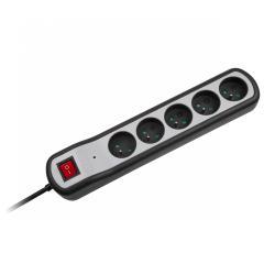 Listwa zasilająca Rebel 5 gniazd z przełącznikiem (1,5m, 3x1,5mm)