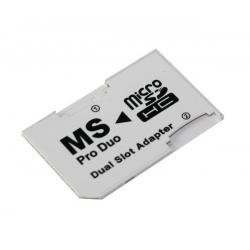 Adapter micro SD dual slot/Memory Stick Pro Duo