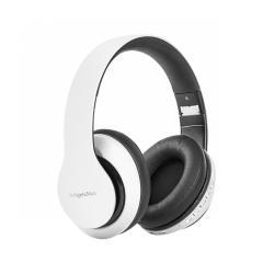 Bezprzewodowe słuchawki nauszne Kruger&Matz model Street 2 Wireless, kolor biały