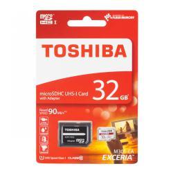 Karta pamięci microSDHC 32GB UHS1 Toshiba z adapterem