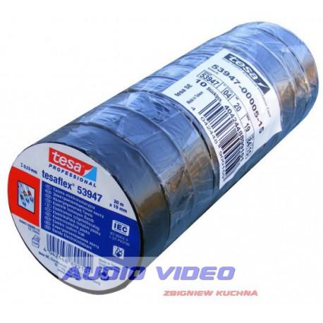 Taśma izolacyjna PVC Tesa 20m/19x10 (10szt wałek)