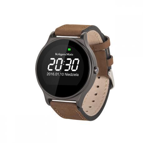 Smartwatch Kruger&Matz STYLE brązowy