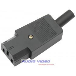 Gniazdo AC komputerowe na kabel