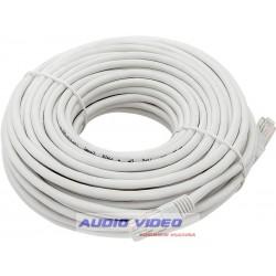 Kabel Patchcord prosty UTP 15m biały