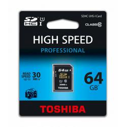 Karta pamięci SDHC 64GB UHS Toshiba