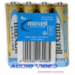 Bateria LR03 Maxell Power Pack