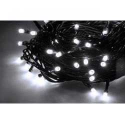 Lampki choinkowe wewnętrzne 10 m, zimne białe, 230 V
