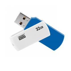Pendrive Goodram USB 2.0 32GB biało-niebieski