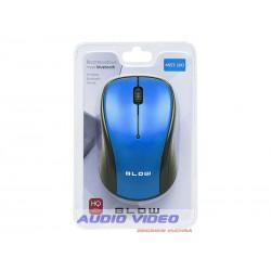 .Mysz Bluetooth MBT-100 niebieska