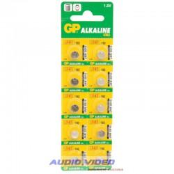 .Bateria alkaliczna AG3(LR41.L736) GP B10, szt.