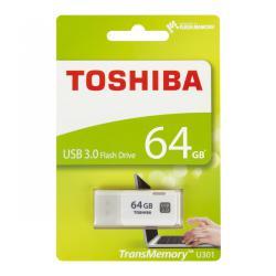 Pendrive Toshiba USB 3.0 64GB biały