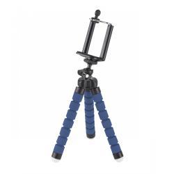Uchwyt tripod, statyw elastyczny M-LIFE do telefonu / kamery sportowej niebieski