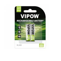 Akumulatorki VIPOW R03 400 mAh Ni-MH 2szt/bl, blister