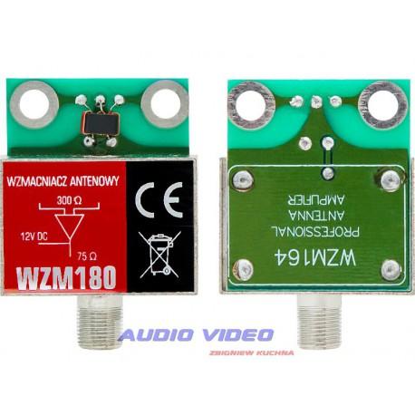 Wzmacniacz antenowy ekranowany 30dB ceramiczny WZM180