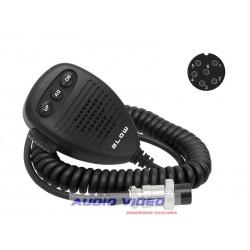 Mikrofon do CB 6pin + przełączniki