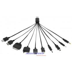 Kabel uniwersalny USB do ładowania GSM(10 typów)