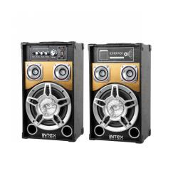 Aktywne kolumny głośnikowe Intex DJ-801