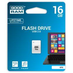 Pendrive Goodram Piccolo USB 2.0 16GB biały