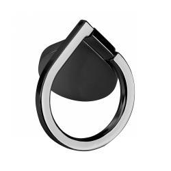 Uchwyt uniwersalny typu pierścień do telefonu czarny