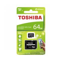 Karta pamięci microSD 64GB UHS-I Toshiba z adapterem