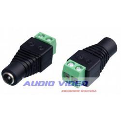 Gniazdo DC szybkozłącze 2.5/5.5 na kabel